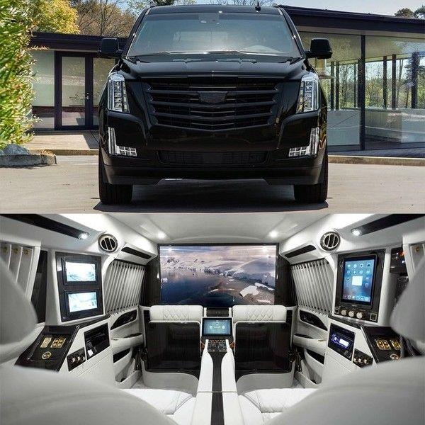 2017 Cadillac Escalade Platinum Sky Captain Mobile Office by @lexanimotorcars