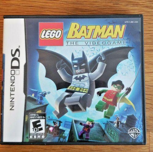 Lego Batman The Videogame Nintendo Ds 2008 Video Game W Case Lego Batman The Videogame Lego Batman Ds Games