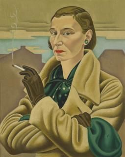 Self-portrait, 1936-37, Rita Angus