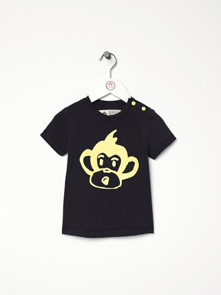 Kid's Organic Cotton Cheeky Tee- Made in Canada by Poco Mono