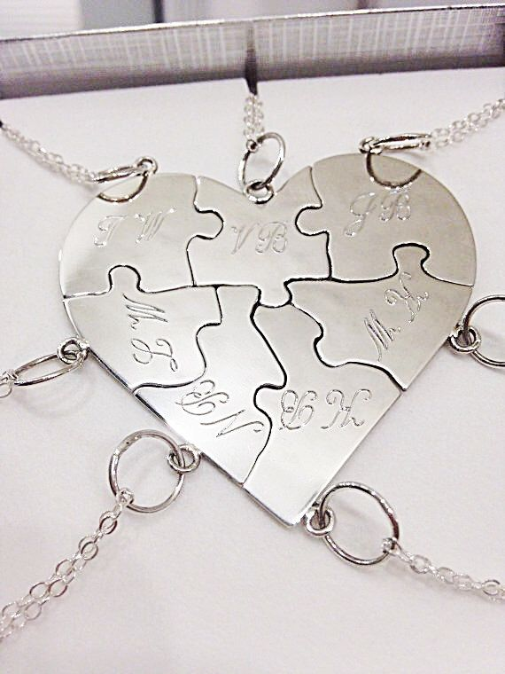 A personal favorite from my Etsy shop https://www.etsy.com/listing/291781809/bridesmaids-sterling-silver-custom