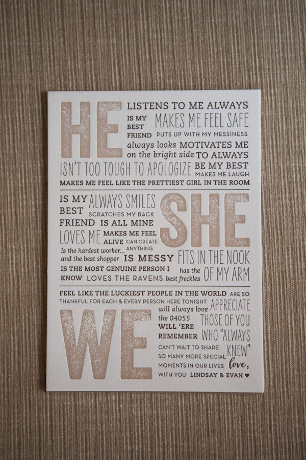 Adorable message to wedding guests, photo by Adam Sjöberg and Nathan Smith for Ira Lippke Studios | via junebugweddings.com