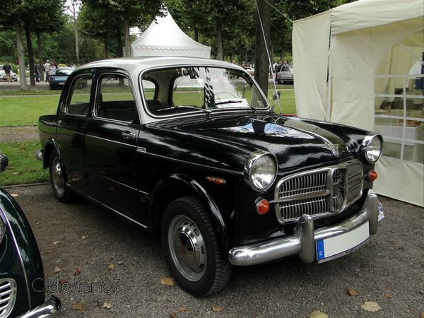 nsu fiat neckar 1100 103d europa 1958 a