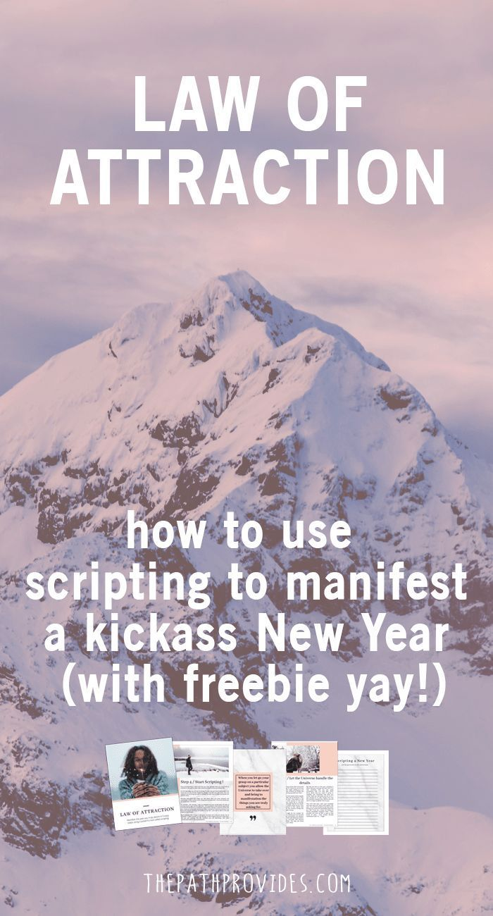 How to use scripting to manifest your ideal year (with freebie yay