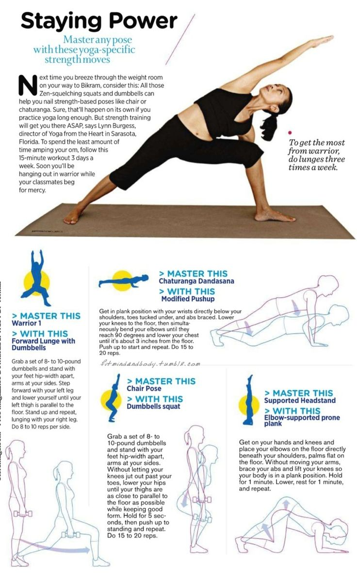15-minute strength training for yoga poses