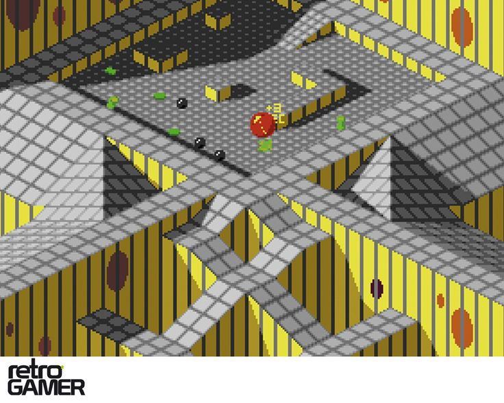 Marble Madness I remember this on the Commodore 64 And the Regular Nintendo