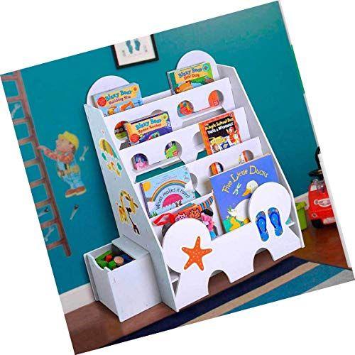 Bookshelf Book Shelf Rack Toys Storage Organizer Sittable Drawer Kids Bookcase New Toy Storage Organization Kids Bookcase Bookshelf Storage