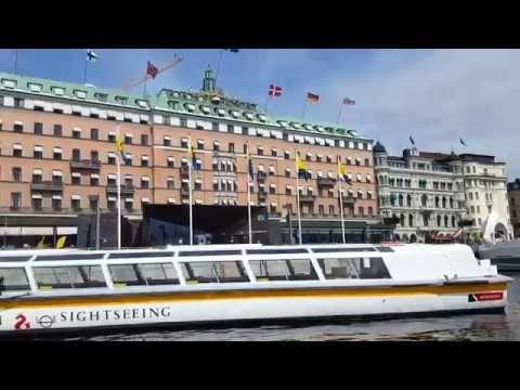 Stockholm boat tour - YouTube