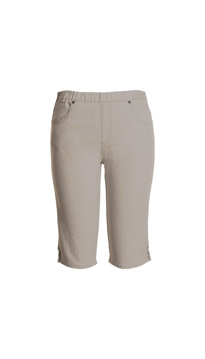 Cafe Latte - Putty Jeans Shorts - Clw554