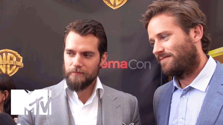 'Batman Vs Superman' Star Henry Cavill & Armie Hammer of 'The Man From U...