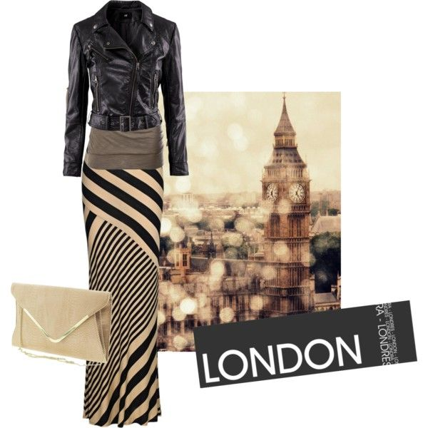 """INLondon"" by modestlyme on Polyvore"