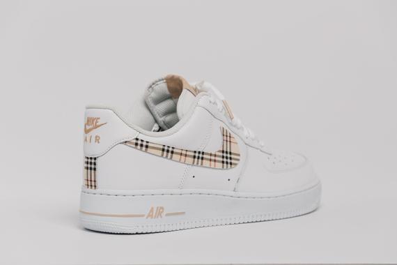 Nike Air Force 1 Custom Made Plaid Edition 1 All Sizes Available Nike Air Force Nike Air Plad Shoes