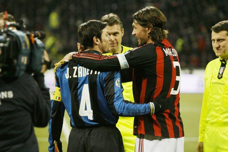 Javier Zanetti & Paolo Maldini - Inter Milan & AC Milan
