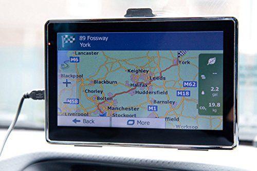 Nouveau GPS 3D 7 Ecran tactile Navigation par satellite Bluetooth FM RAM 128Mb 8 FM MP3, MP4: Ce est une 17,8cm pouces Full uk + Full…