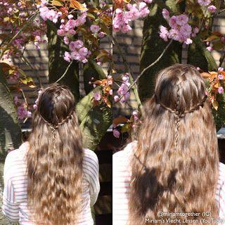 Miriam's Vlecht Lessen (Miriam's braiding instructions): 9 tips voor mooi haar // 9 tips for beautiful hair...