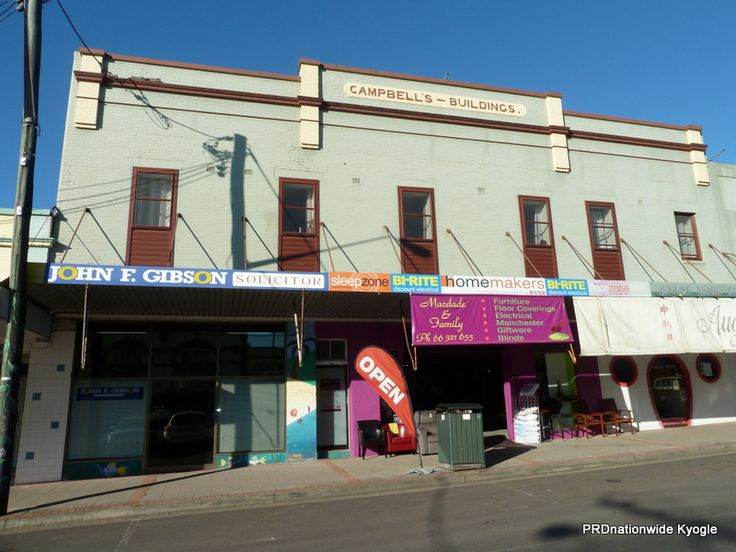 """Circa 1926 the """"Campbell's Building"""". Another building that survived the fires of the late 1920's and 1930's. Currently occupied by John f Gibson Solicitors, McDade's & August Moon restaurant."""
