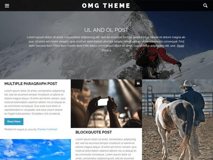 OMG — Free WordPress Themes