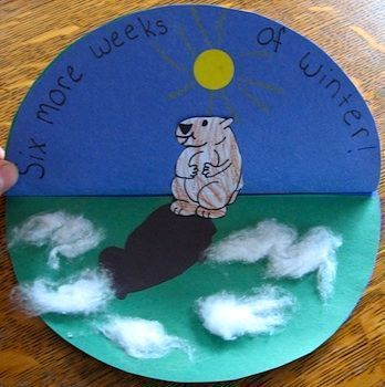 Groundhog Day Crafts - Things to Make and Do, Crafts and Activities for Kids - The Crafty Crow