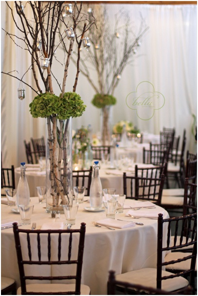 Images about birch branches wedding flowers on