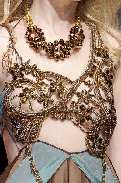 aclockworkpink: Seduzioni Diamonds Valeria Marini S/S 2011, Milan Fashion Week