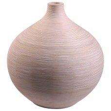 Bamboo Ball Vase - White £79.99