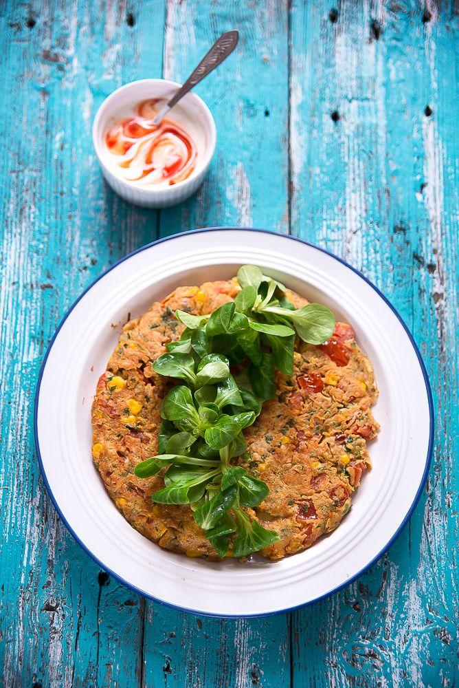picante-jalapeno.blogspot.com: Pomidorowy omlet z kukurydzą