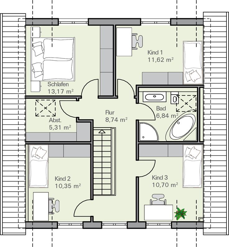 85 best home grundrisse floor plans images on for Grundriss einfamilienhaus 100 qm