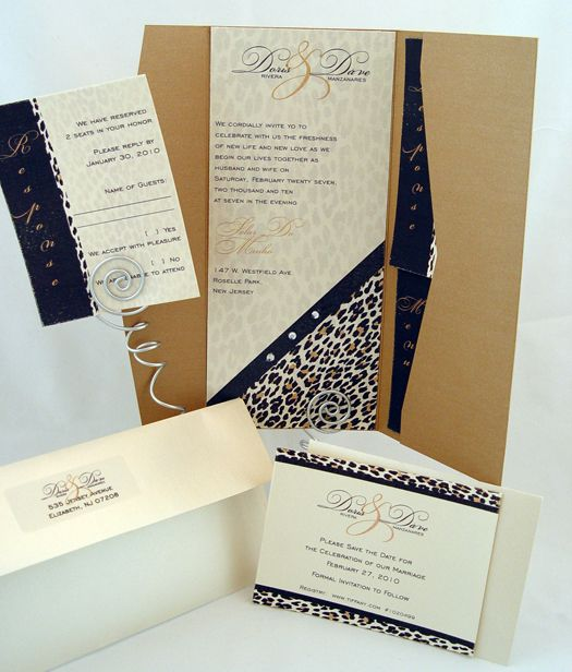 Unique Wedding Theme: Be Wild, be Bold, be a Leopard!  