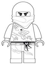 Kids-n-fun | 11 coloring pages of Lego Ninjago