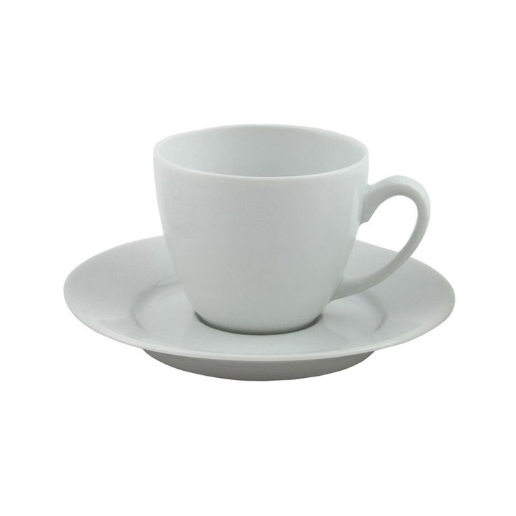 Havanna 6oz Euro Cup and Saucer - This plain white china blends in with the Sonata range and always looks crisp and clean. Available in large quantities. Choose from a wide selection of cutlery and glassware to suit the style of your event from traditional through to contemporary designs.