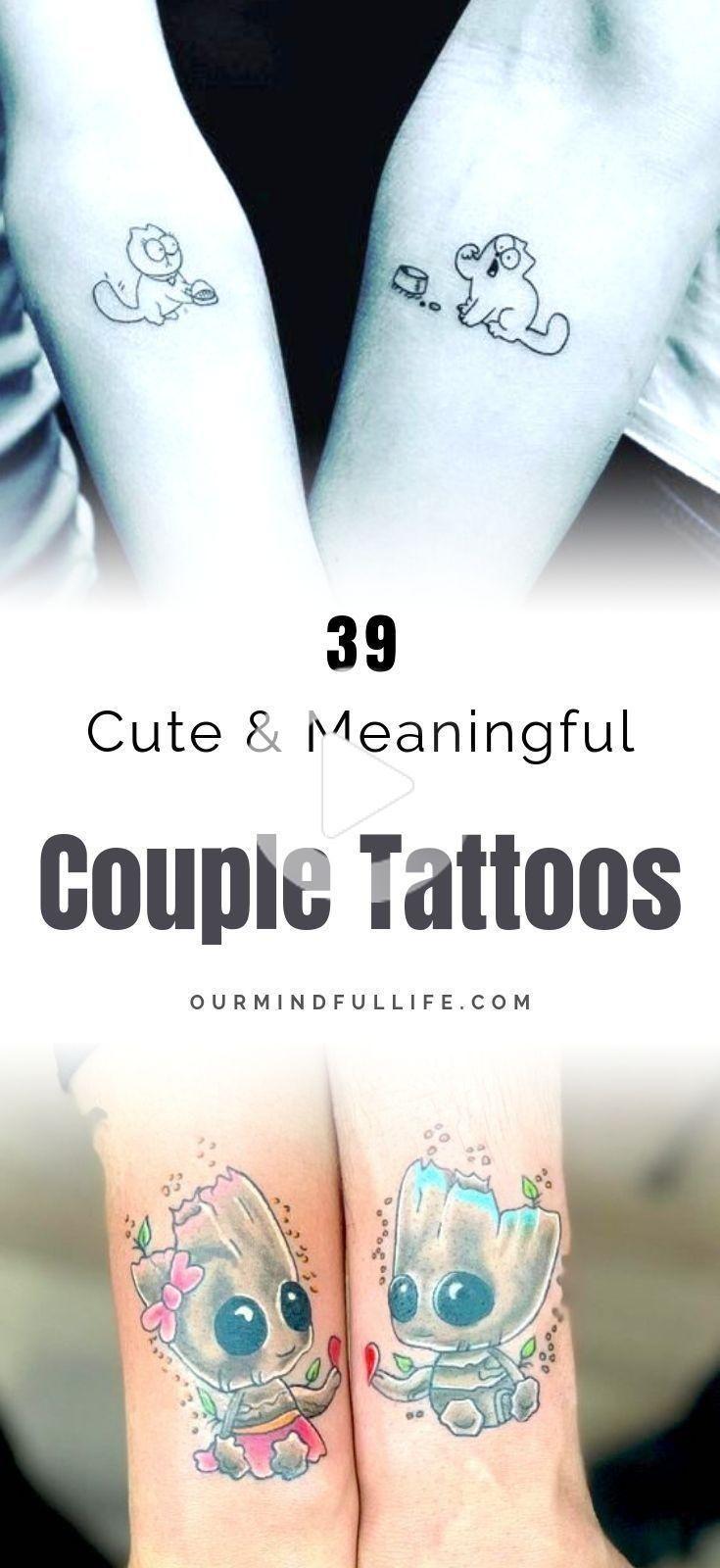 112 Pareja Romantica Sin Remedio Tatuajes Que Son Mejor Que Un Anillo In 2020 Meaningful Tattoos For Couples Romantic Couples Tattoos Married Couple Tattoos