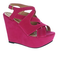 Thesewedgesfrom Office.co.uk, at €68 are great forcolor blockingthissummer!!