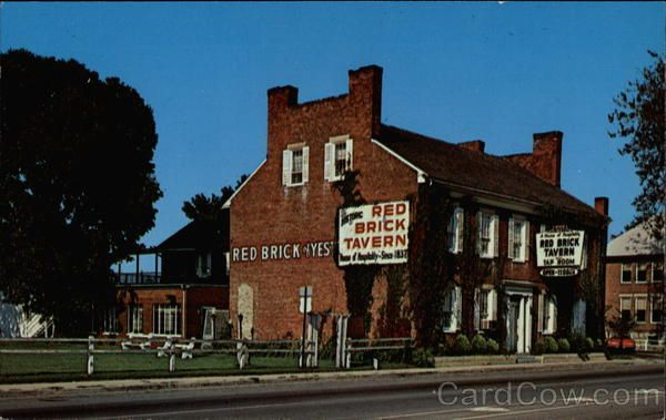 The Historic Red Brick Tavern London Ohio.  Yummy Sunday Brunch