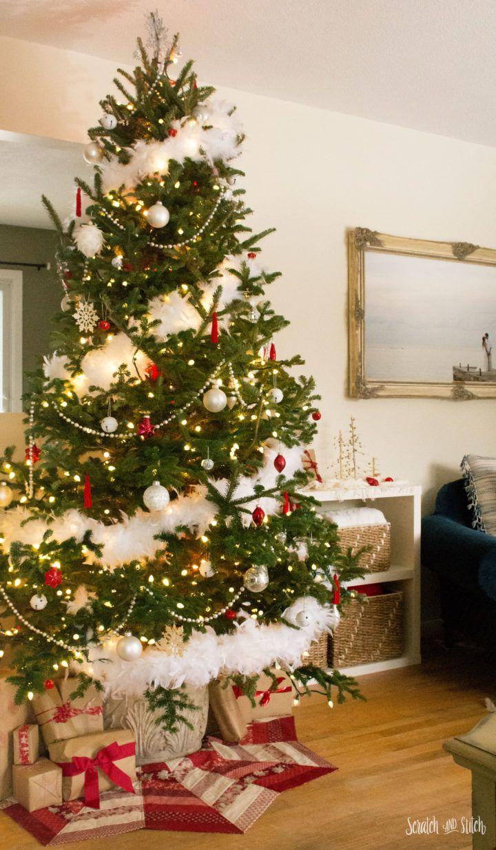 Christmas 2017 With Images Christmas Tree Feathers Christmas Tree