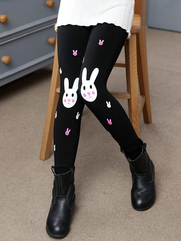 Welcome Easter~ ♥ Rabbit Printed Plush Lined Leggings~ ♥  Join Sammydress NOW Get YOUR $50 and a chance to GET THIS FOR FREE!!