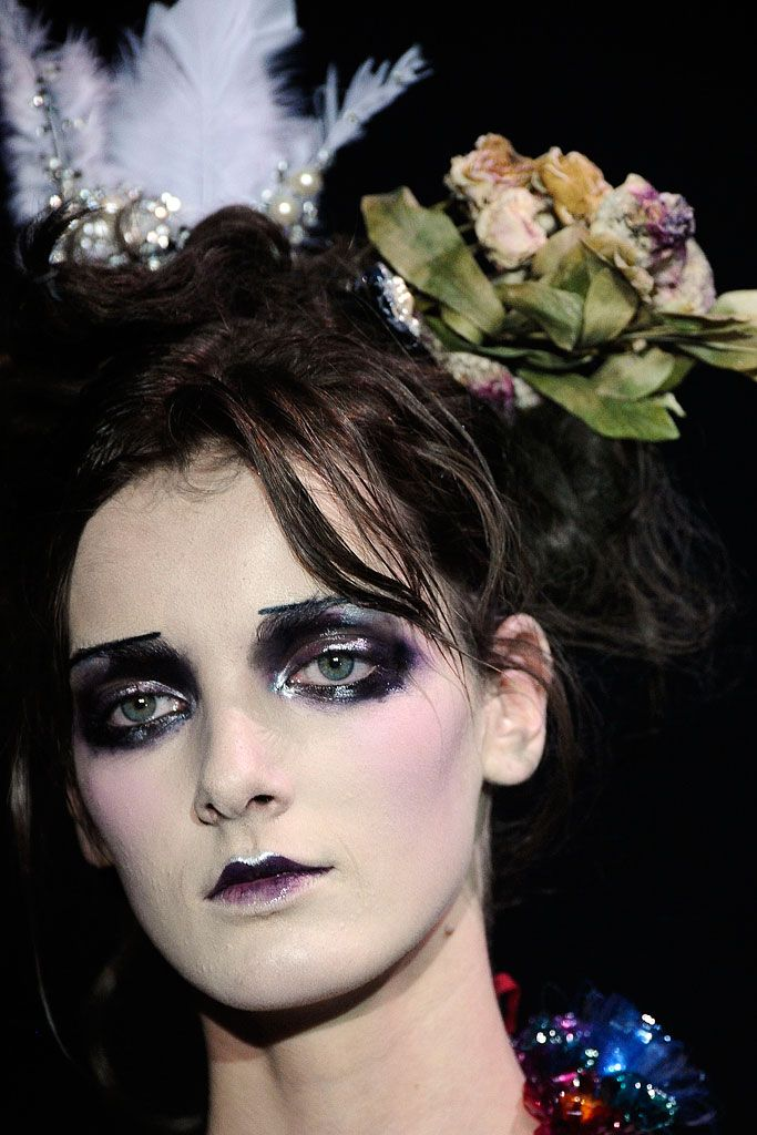 John Galliano Spring 2010 RTW  Makeup by Pat McGrath