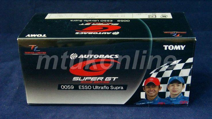 TOMICA TL 59 TOYOTA ESSO ULTRFLO SUPRA #6 | 75mm | SUPER GT 2005 GT500 CLASS