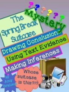 The Spring Break Mystery-Reading Comprehension and Writing