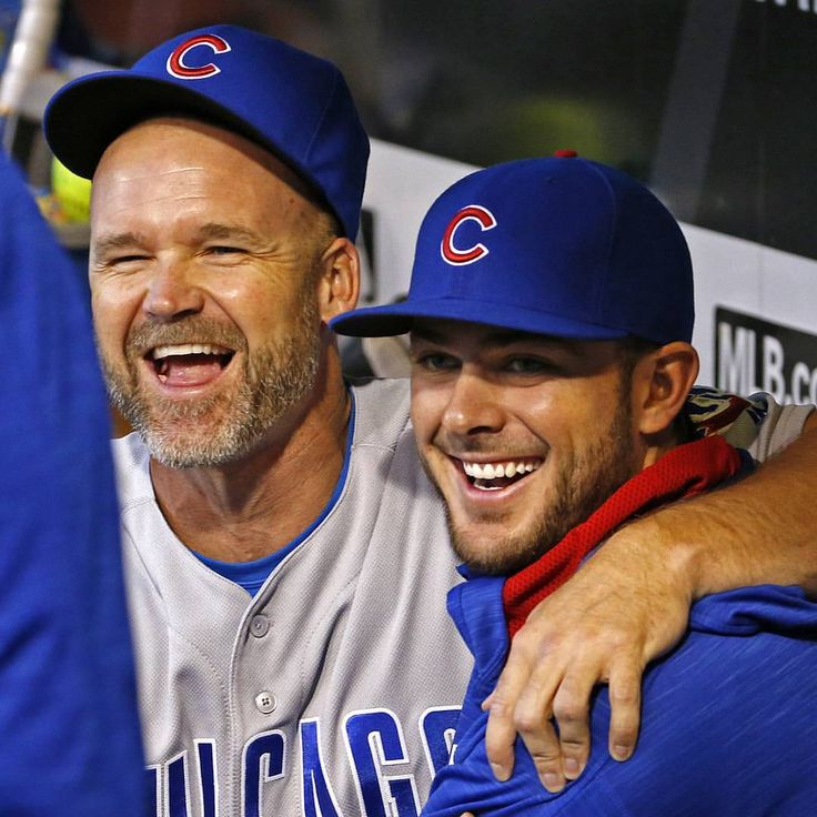 Grandpa Rossy and Bryant   by @cubs