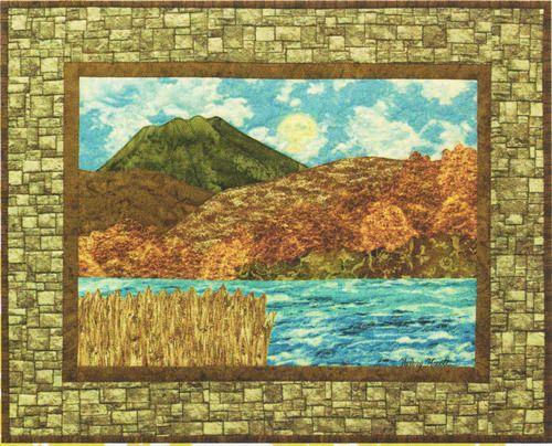 River View - Bella Vista Landscape Vignettes by Helene Knott - Applique Pattern -