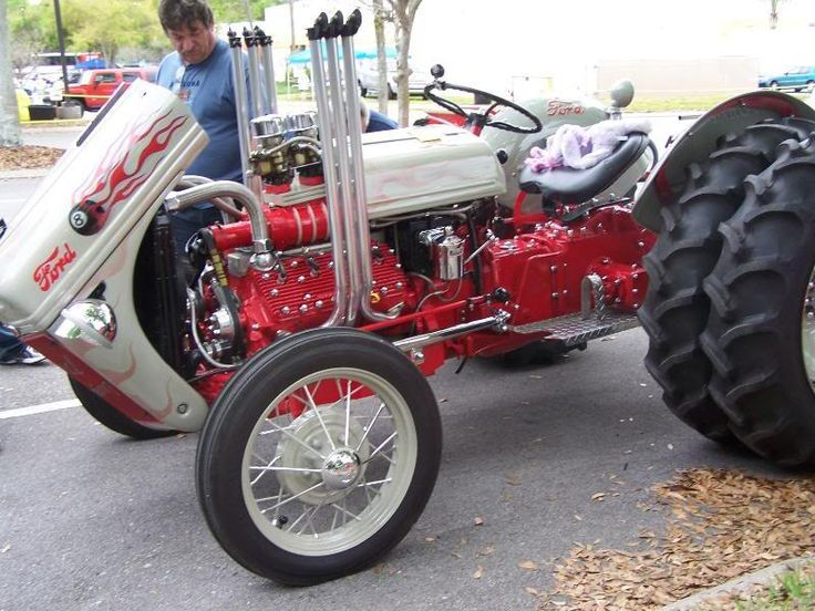 Blown Ford 8n Tractor This would make a very interesting project for the winter! I wouldn't need a blower on it.