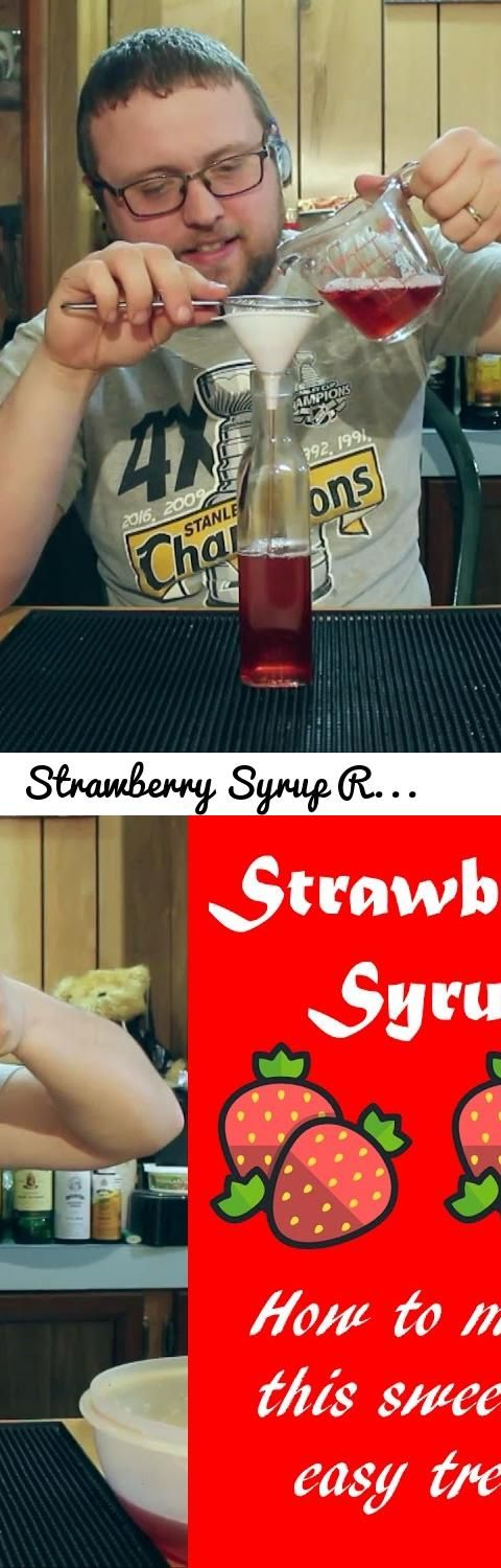 Strawberry Syrup Recipe for Cocktails and Desserts - Great How to... Tags: alcohol, mixed, drinks, mixed drinks, an idiots liquor, drinking, drink recipes, mixology, home bartending, cocktail videos, easy cocktails, strawberry syrup, syrup, cocktail syrup, strawberry cocktails, strawberry drinks, fresh strawberries, recipes with strawberries, drink recipe, homemade syrup, homemade strawberry syrup, recipe, strawberry, strawberry