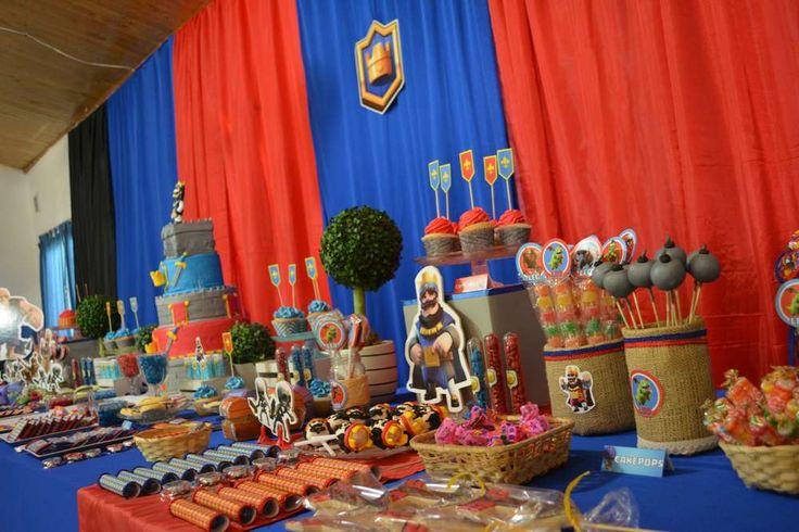 Clash Royale Birthday Party Ideas | Photo 2 of 38