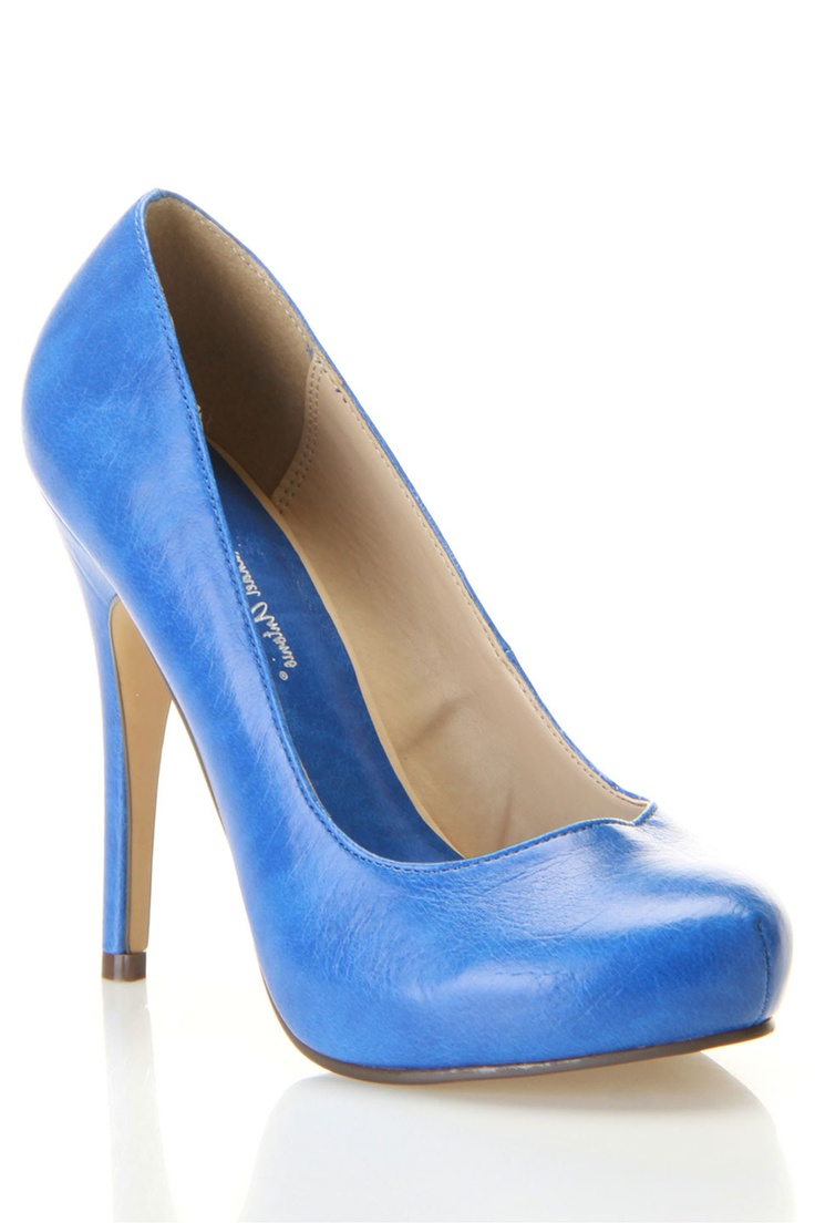 michael antonio love me pumps in blue... I need these for my KY outfits