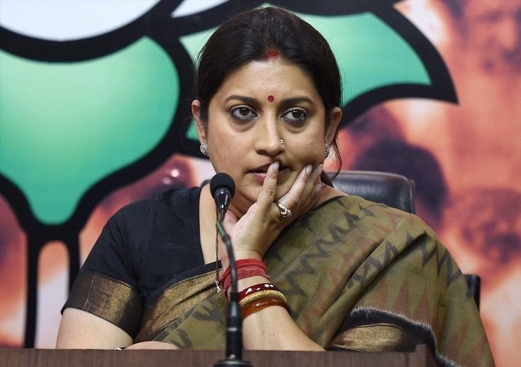 Smriti Irani's Expensive Picks for Top Editorial Jobs at Prasar Bharati Nixed By Board - The Wire