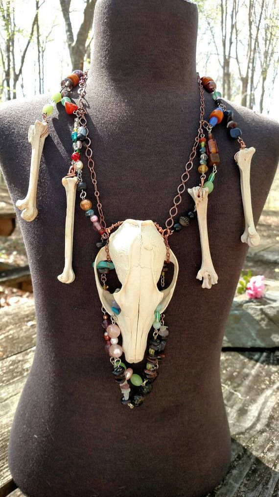 Check out this item in my Etsy shop https://www.etsy.com/listing/289798735/voodoo-priestess-necklace