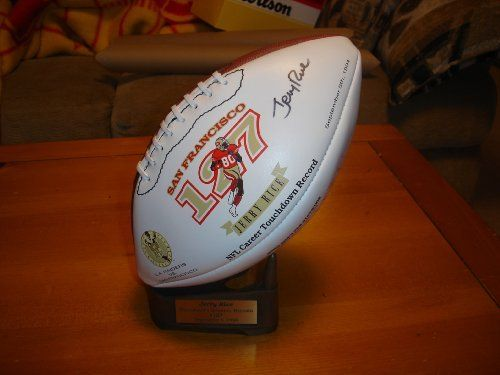 Autographed Jerry Rice San Francisco 49ers Signature Wilson Football w/ Stand  https://allstarsportsfan.com/product/autographed-jerry-rice-san-francisco-49ers-signature-wilson-football-w-stand/   		 			#gallery-3  				margin: auto; 			 			#gallery-3 .gallery-item  				float: left; 				margin-top: 10px; 				text-align: center; 				width: 33%; 			 			#gallery-3 img  				border: 2px solid #cfcfcf; 			 			#gallery-3 .gallery-caption  				margin-left: 0; 			 			/* see...