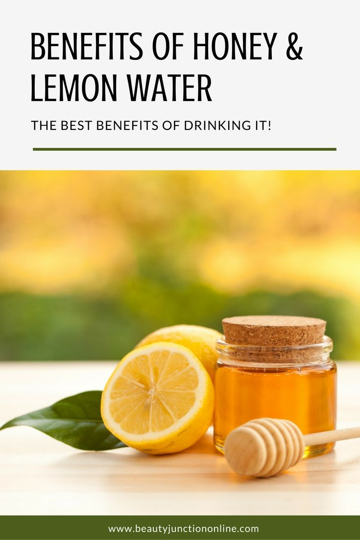 Discover the best benefits of drinking honey and lemon water everyday!