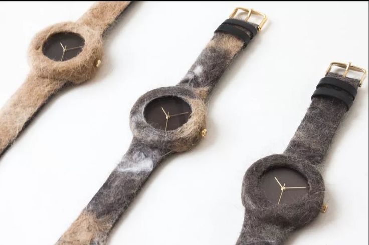 Harvest your pet's fur and wear it as a #watch band  #harvest2017 #cats #dogslife #AnalogWatch #TECH #Clock #AppleWatch