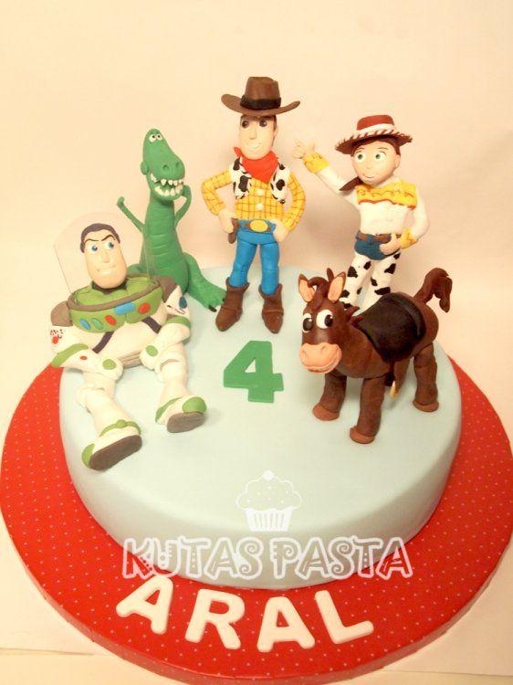 Oyuncak Hikayesi Pasta - Toy Story Cake